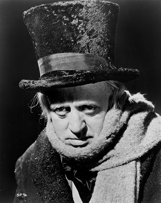 A Christmas Carol (aka Scrooge). Courtesy of United Artists.
