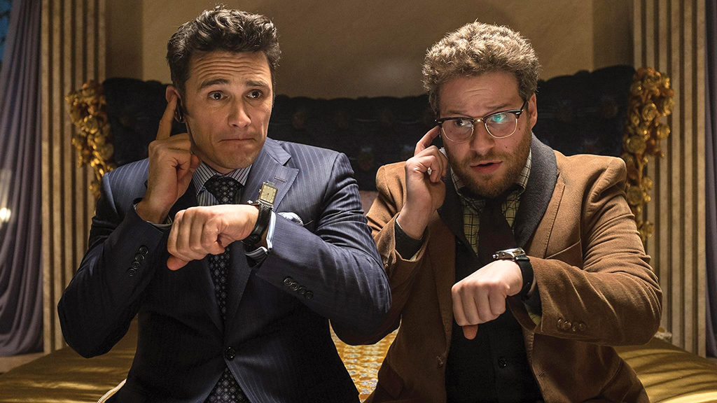 James Franco and Seth Rogen as undercover agents in The Interview. Courtesy Columbia Pictures/SONY