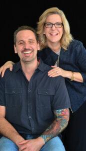 Darren Hallihan and Lisa Trulli. Photo by Martin Cohen