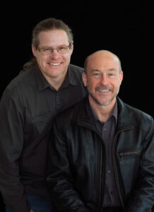 Jeremy Peirson, left, and Dane Davis. Photo by Martin Cohen