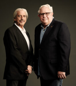 Alan Robert Murray, left, and John Reitz. Photo by Christopher Fragapane