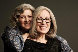 Lisa Churgin, left, and Carol Littleton. Photo by Christopher Fragapane