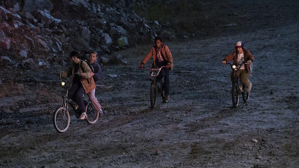 A scene from 'Stranger Things.' Courtesy of NETFLIX.