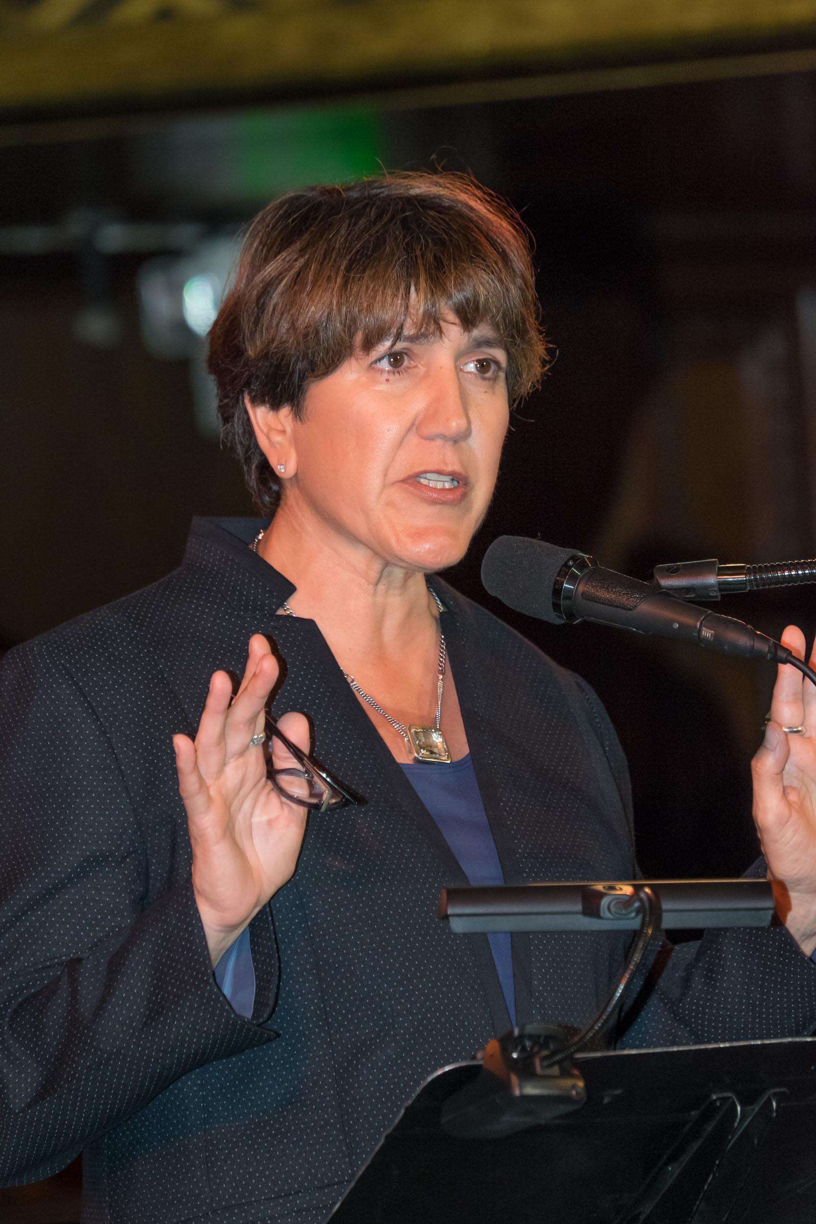 MPEG Western Director Cathy Repola. Photo by Wm. Stetz