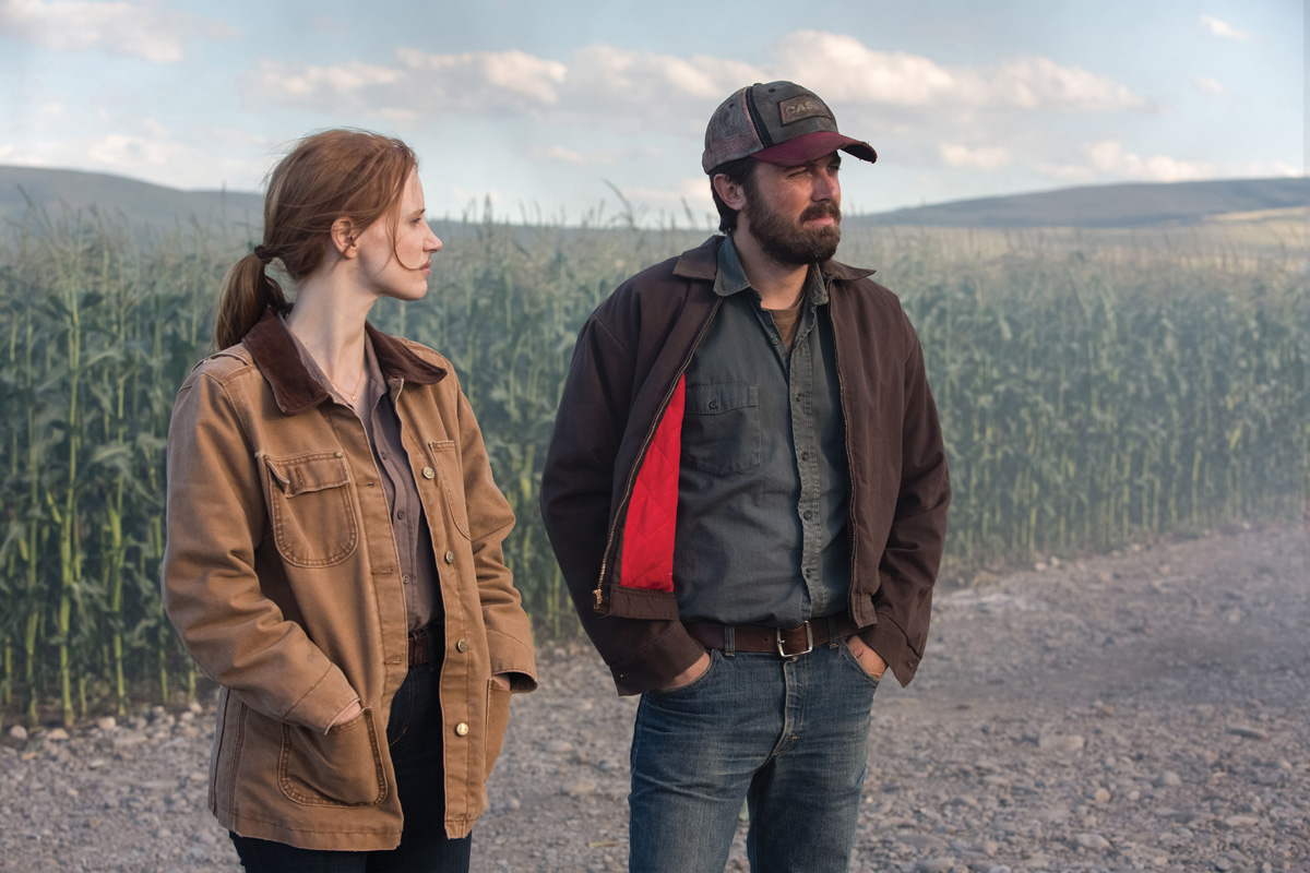 Jessica Chastain and Casey Affleck in Interstellar. Paramount Pictures.