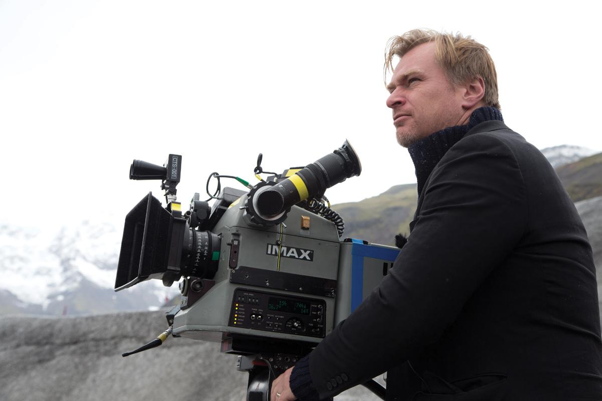 Christopher Nolan. Photo by Melinda Sue Gordon.