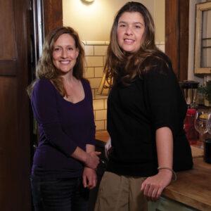 Debra Weinstein, left, and Sandra Angeline.