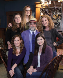 The Fosters editorial crew, clockwise from bottom left: Debra Weinstein, Sandra Angeline, Sharon Smith Holley, Sharon Silverman, Meghan Robertson and Michael Jablow.