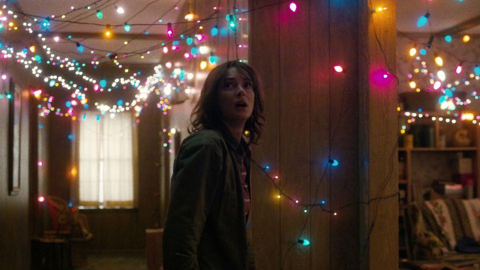 Winona Ryder in 'Stranger Things.' Courtesy of NETFLIX.
