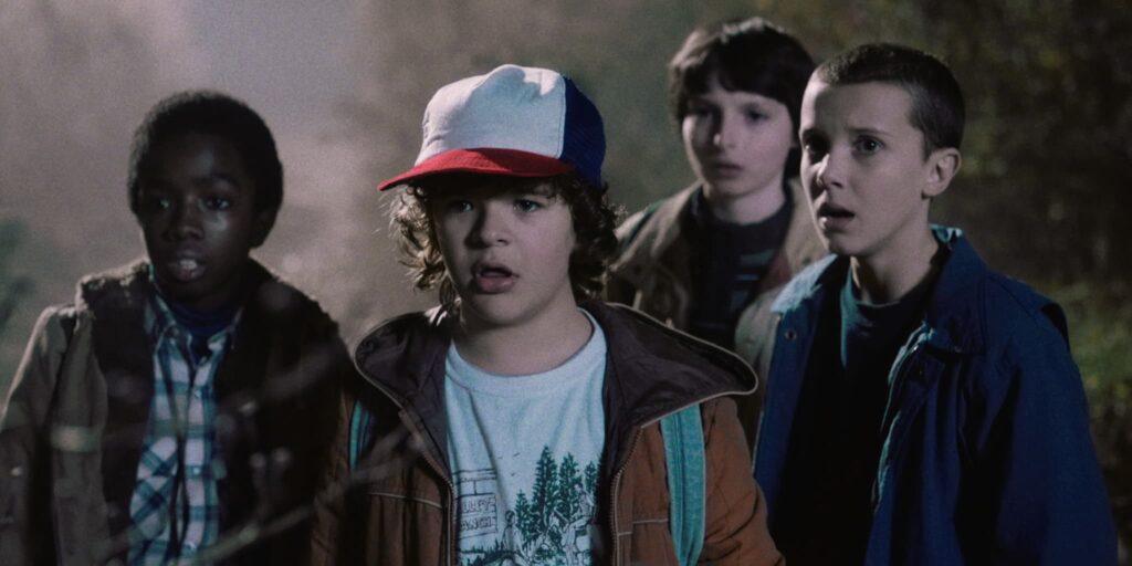 The kids of 'Stranger Things.' Courtesy of NETFLIX.