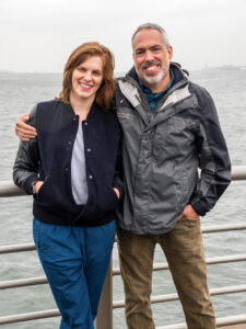 <em>Editor Jennifer Lame, left, and Sound Supervisor Jacob Ribicoff.</em>