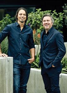Jason Ruder, left, and David Klotz.
