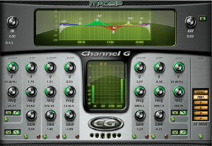 McDSP's Channel G: Great headroom, slight color.