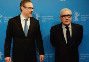 Editor David Tedeschi has worked on numerous documentaries with director Martin Scorsese (right). PHOTO: GETTY IMAGES